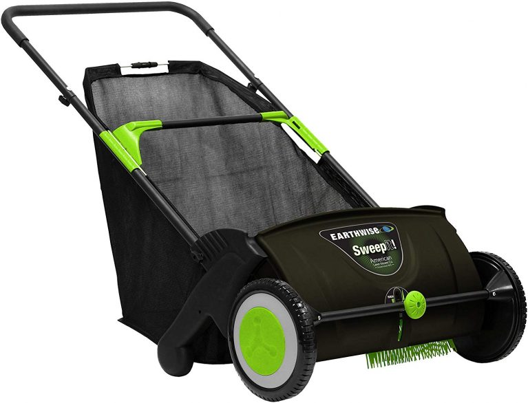 Earthwise lawn sweeper