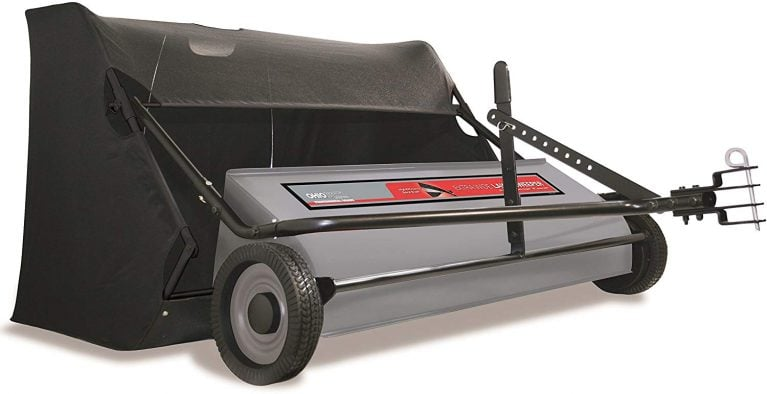 Leaf Collecting Lawn Sweeper