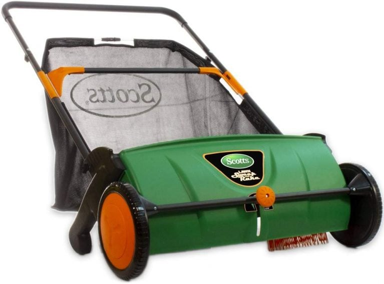 Best Push Lawn Sweeper – Scotts LSW70026S