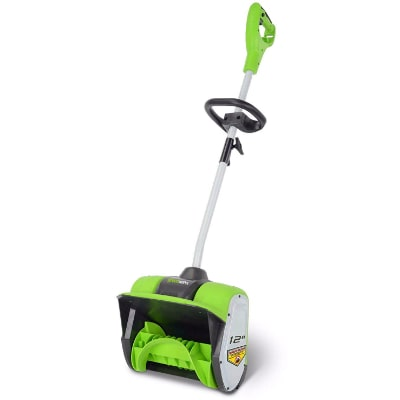 Greenworks 12-Inch Corded Snow Shovel