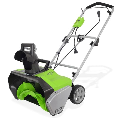 Greenworks 20-Inch Snow Thrower