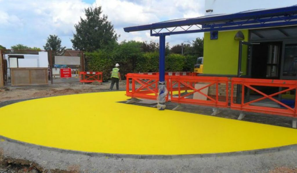 The Rubber Mulch for Playground
