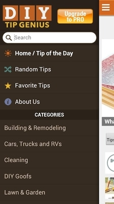 Family Handyman DIY Tip Genius app screenshot