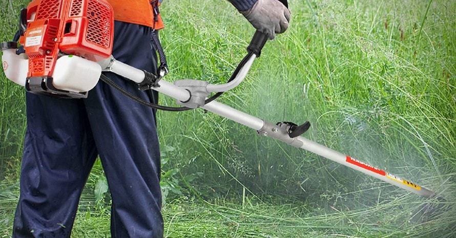 Grass String Trimmers Gas Straight Shaft Brush