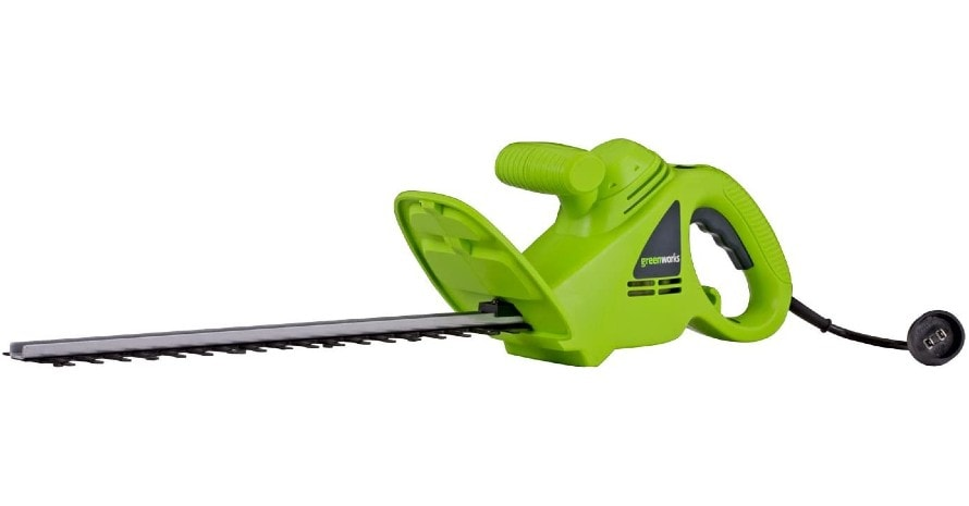 Greenworks 18-Inch 2.7 Amp Corded Hedge Trimmer featured