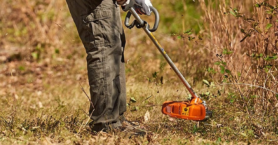 Husqvarna 324L 4-Cycle 18 inches Cutting Path Gas String Trimmer