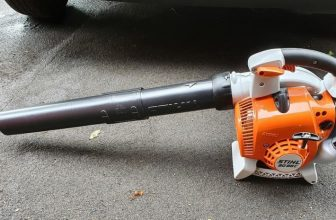 how to start a gas leaf blower